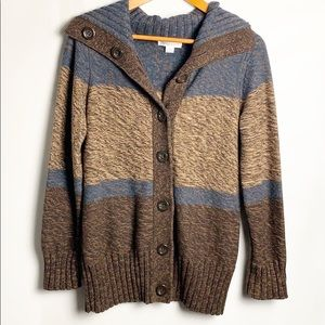 Pendleton Button Front Cardigan Sweater Size Small